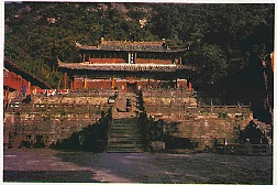A temple in Mt. Wudang