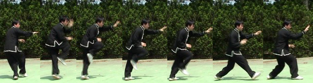 Xingyiquan empty-hand combined form movement